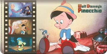 Click on Pinocchio Checkbook Cover For More Details