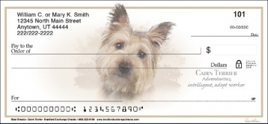 Click on Best Breeds - Cairn Terrier Personal Personal Checks thumbnail to view the product detail page