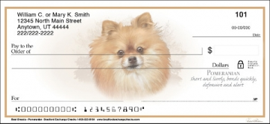 Click on Best Breeds - Pomeranian Personal Personal Checks thumbnail to view the product detail page