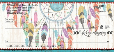 Click on Dreamcatchers Personal Checks For More Details
