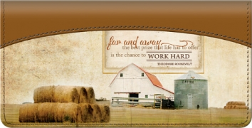 Click on Faith Family Farming Checkbook Cover For More Details