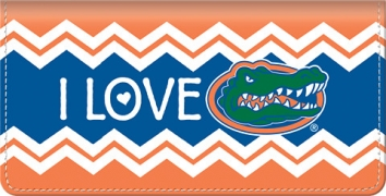 Click on I Love Gators Chevron Checkbook Cover thumbnail to view the product detail page
