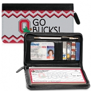 Click on I Love Ohio State(R) Chevron Zippered Wallet Checkbook Cover For More Details