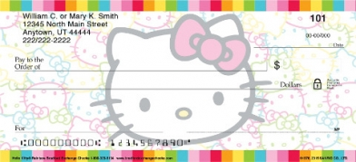 Click on Hello Kitty(R) Colors Personal Checks For More Details