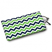 Learn more about Blue and Green Chevron Eyeglass Case