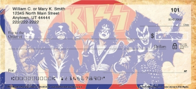 Click on KISS(TM) Personal Check Designs Personal Checks thumbnail to view the product detail page