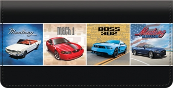 Click on Ford  Mustang Checkbook Cover For More Details