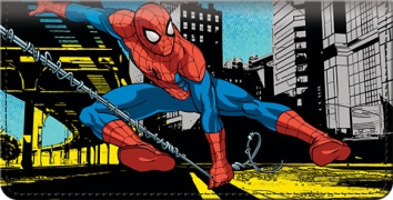 Click on Spider-Man Checkbook Cover For More Details