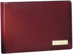 Learn more about Personalized Burgundy Leather Binder - 7 Ring