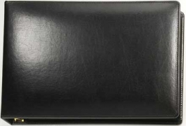 Learn more about Black Binder - 7 Ring bonded leather