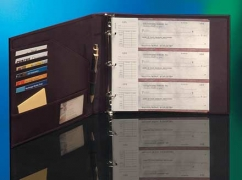3 Ring Business Checkbook Binders 3 On A Page Business