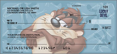 Click on Taz Cartoon - 1 Box Personal Checks For More Details