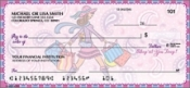 Pampered Girly Personal Checks