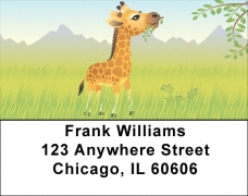 Click on Baby Animals Address Labels For More Details
