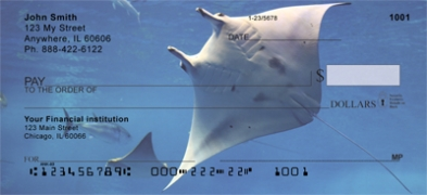 Click on Manta Rays  Personal Checks For More Details