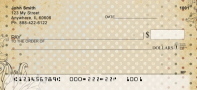 Click on Antique Dots  Personal Checks For More Details
