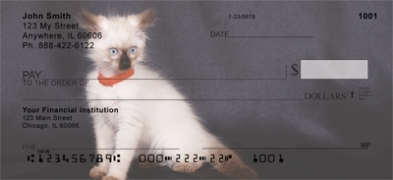 Click on Birman Kittens  Personal Checks For More Details