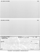 Click on Grey Marble Voucher Checks Bottom Style For More Details