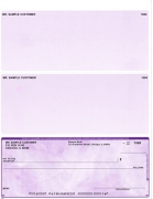 Click on Violet Marble Voucher Checks Bottom Style For More Details