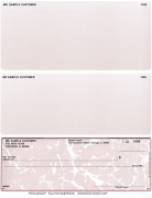 Click on Burgundy Marble Voucher Checks Bottom Style For More Details