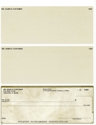 Click on Tan Marble Voucher Checks Bottom Style For More Details