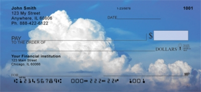 Click on Clouds in the Sky  Personal Checks For More Details