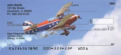 Click on Stunt Planes  Personal Checks For More Details