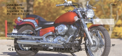 Click on Cruising Motorcycles  Personal Checks For More Details