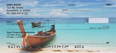 Click on Scenic Tropical Boats  Personal Checks For More Details