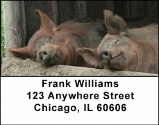 Click on Barnyard Friends Address Labels For More Details