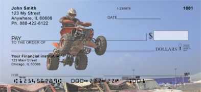 Click on ATV Racing  Personal Checks For More Details