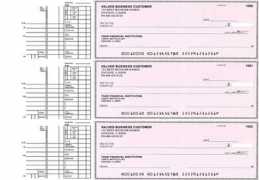 Click on Pink Safety Multi Purpose Business Checks For More Details
