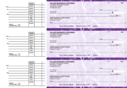 Click on Purple Marble Accounts Payable Business Checks For More Details