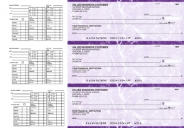 Learn more about Purple Marble Payroll Business Checks
