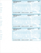 Click on Teal Marble 3 Per Page Wallet Checks For More Details