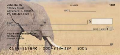 Click on Elephants  Personal Checks For More Details