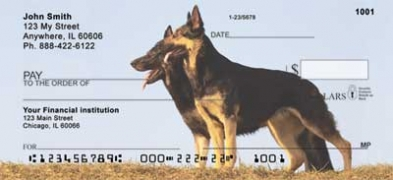Click on German Shepherds  Personal Checks For More Details