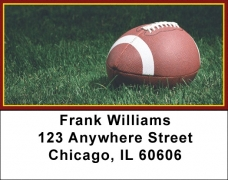 Click on Burgundy & Gold Football Team Address Labels For More Details