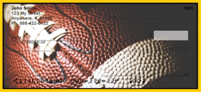 Click on Black & Gold Football Team  Personal Checks For More Details