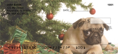Click on Christmas Dogs  Personal Checks For More Details