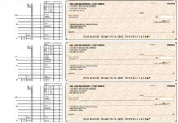 Click on Tan Parchment Multi Purpose Business Checks For More Details
