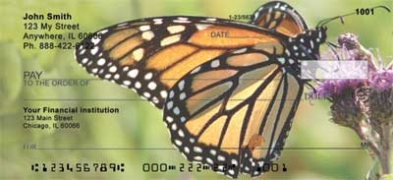 Click on Monarch Butterflies  Personal Checks For More Details