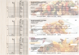 Click on Chinese Cuisine Multi Purpose Designer Business Checks  For More Details