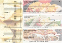 Click on Mexican Cuisine Accounts Payable Designer Business Checks For More Details