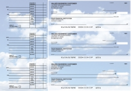 Click on Clouds Accounts Payable Designer Business Checks For More Details