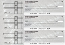Click on Brushed Metal Accounts Payable Designer Business Checks For More Details