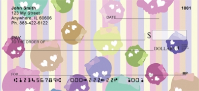 Click on Pastel Skulls  Personal Checks For More Details