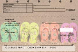 Click on Flip Flops Top Stub  Personal Checks For More Details