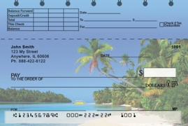 Click on Island Paradise Top Stub  Personal Checks For More Details