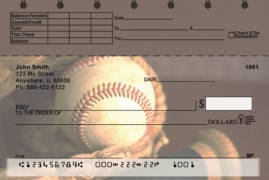 Click on Baseball Top Stub  Personal Checks For More Details